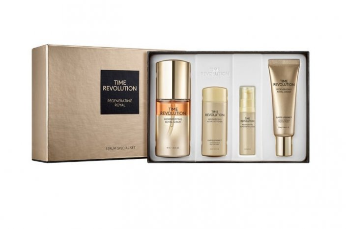 TIME REVOLUTION Regenerating Royal Serum Special Set - Vysoko hydratačný a regeneračný set