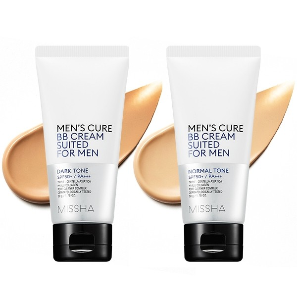 MISSHA Men's Cure BB Cream Suited For Men – BB krém pre mužov - Odtieň: Normal Tone