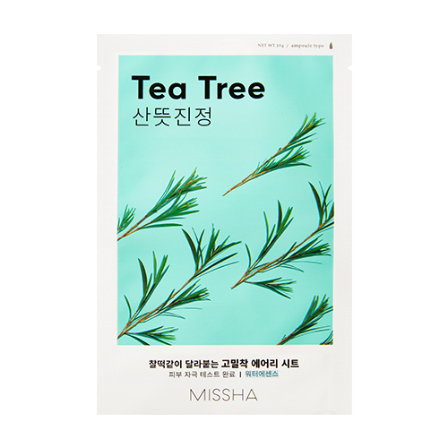 MISSHA Airy Fit Sheet Mask (Tea Tree) – Plátienková maska s výťažkom z tea tree
