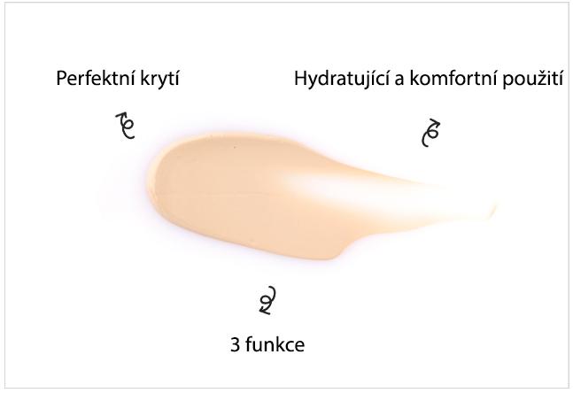 3 funkce BB kremu